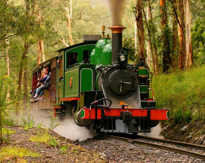 Puffing Billy, Victoria, Australia