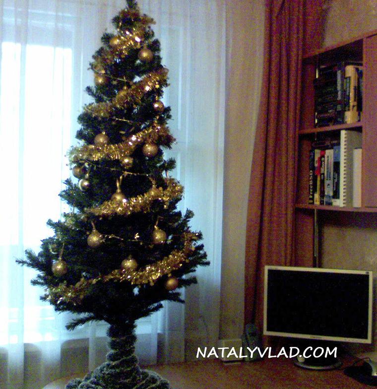 2006-12 - Наша новогодняя елка в канун Нового 2007 года, Санкт-Петербург, Россия