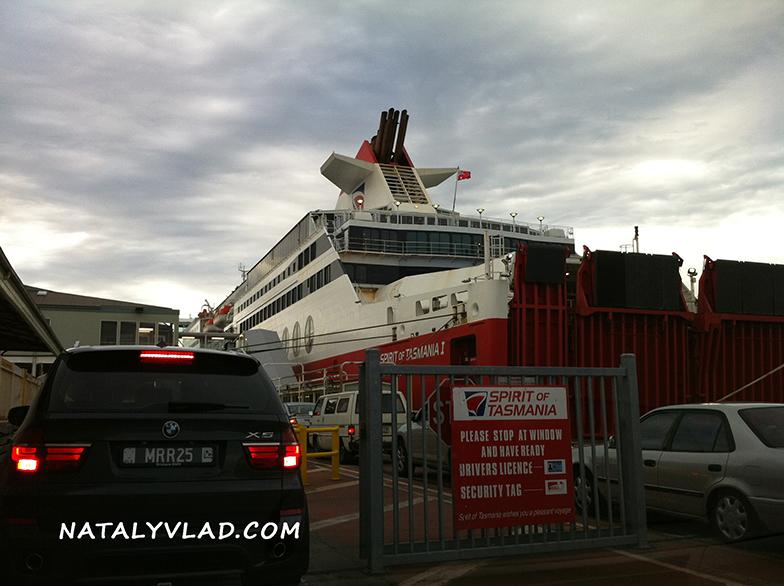 2012-12-24 - Путешествие из Мельбурна на Тасманию на пароме Spirit of Tasmania, Австралия