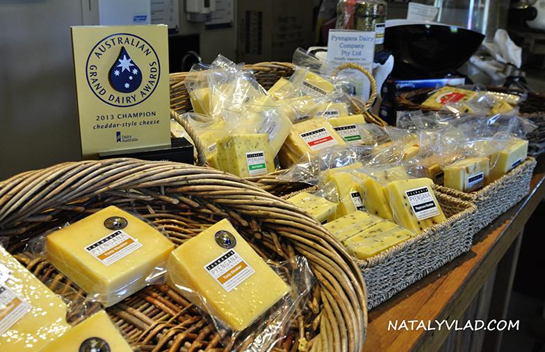 2013-01-04 - Сырная ферма в Pyengana, Тасмания