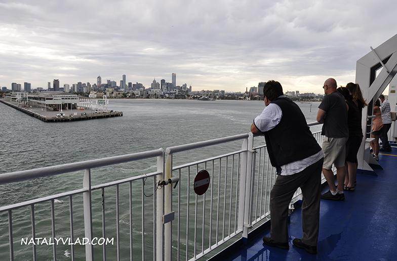 2012-12-24 - Отплытие из Мельбурна на Тасманию на пароме Spirit of Tasmania