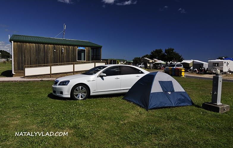 2012-12-25 - Наша ночевка в караван-парке в Devonport, Тасмания