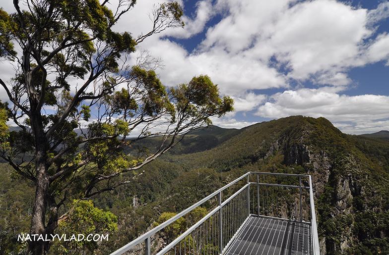 2012-12-25 - Смотровая площадка, ущелье Leven Canyon, Тасмания
