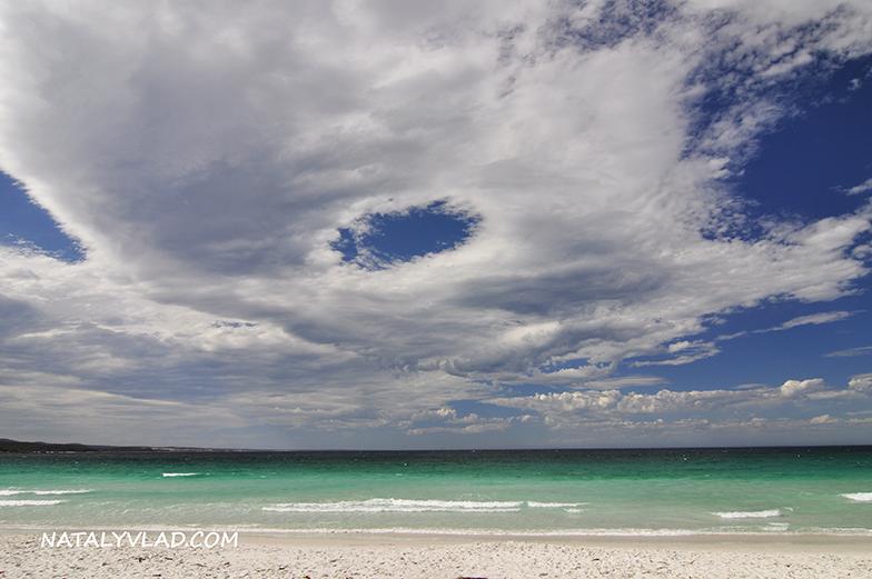 2013-01-03 - Пляж в бухте Binalong Bay, Тасмания