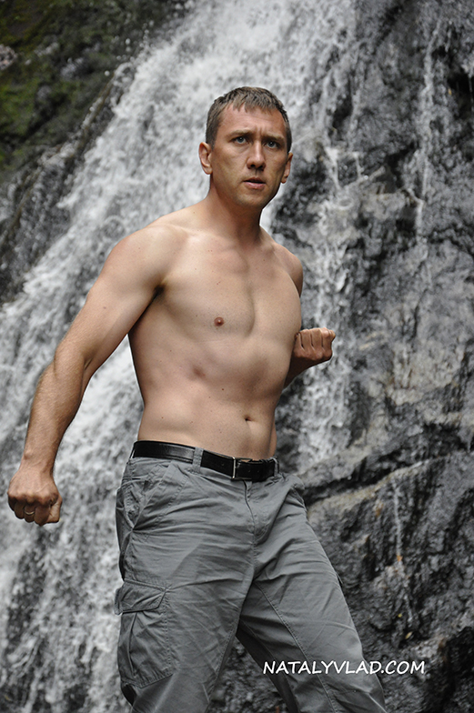 2012-12-27 - У водопада Montezuma Falls, Тасмания
