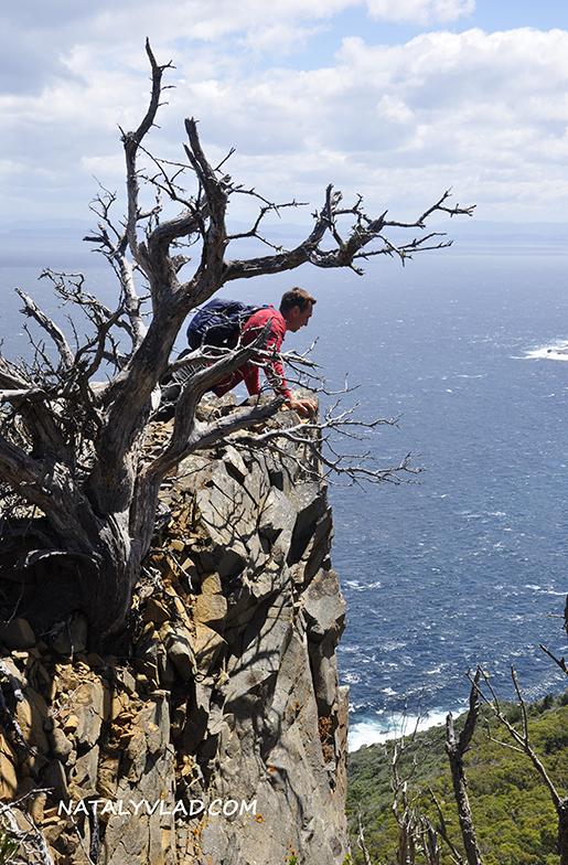 2013-01-01 - Пеший трек на мыс Cape Raoul, Тасмания