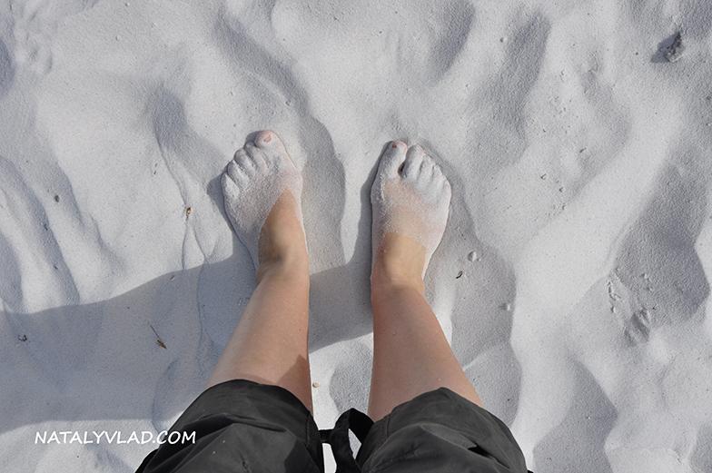 2013-01-03 - На пляже в бухте Binalong Bay, Тасмания