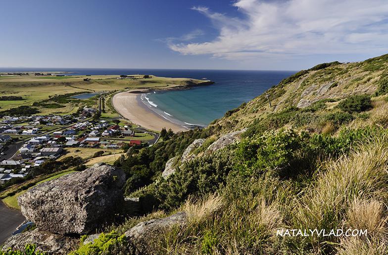 2012-12-25 - Виды с вершины The Nut, Stanley, Тасмания