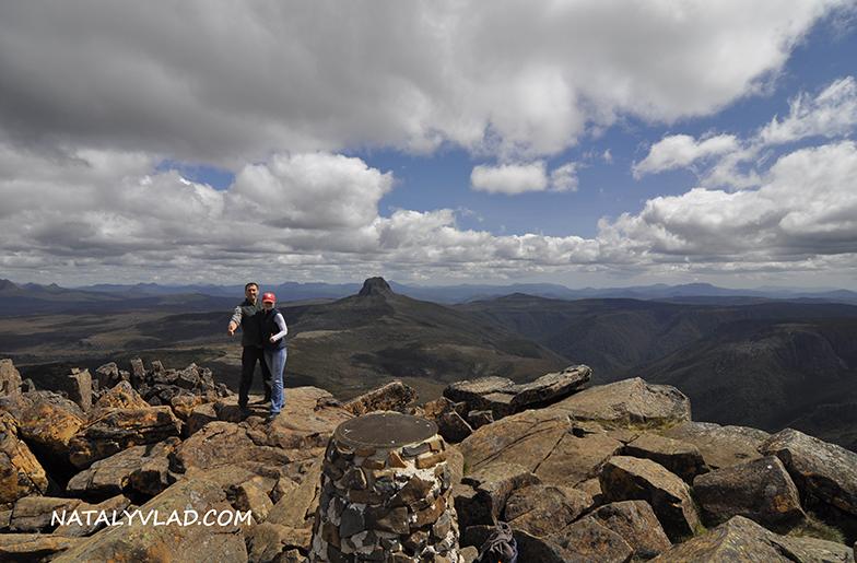 2012-12-26 - Верхушка горы Cradle Mountain, Тасмания