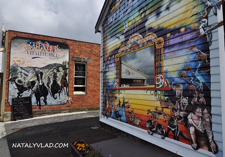 2012-12-27 - Картинная галерея на улочках Sheffiled, Тасмания