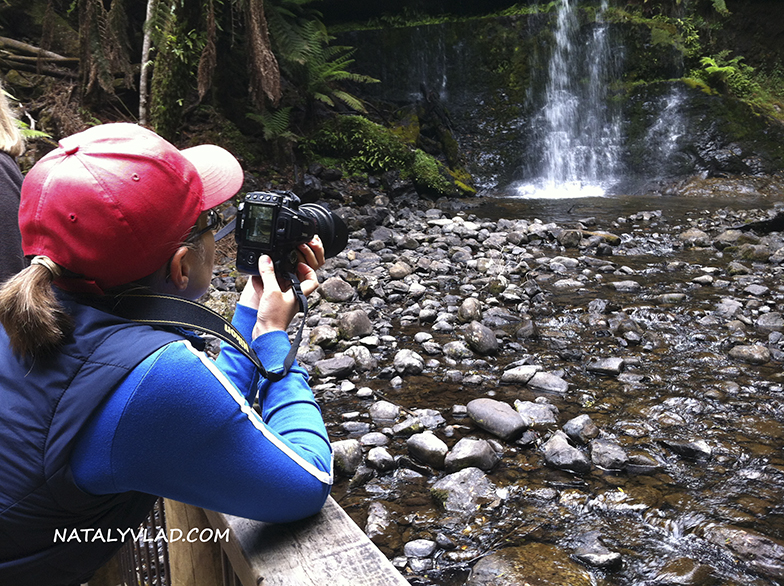 2012-12-31 - Пеший трек к водопаду Russel Falls, Тасмания