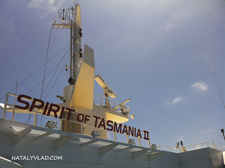 2013-01-06 - Паром Spirit of Tasmania, Девонпорт - Мельбурн, Австралия