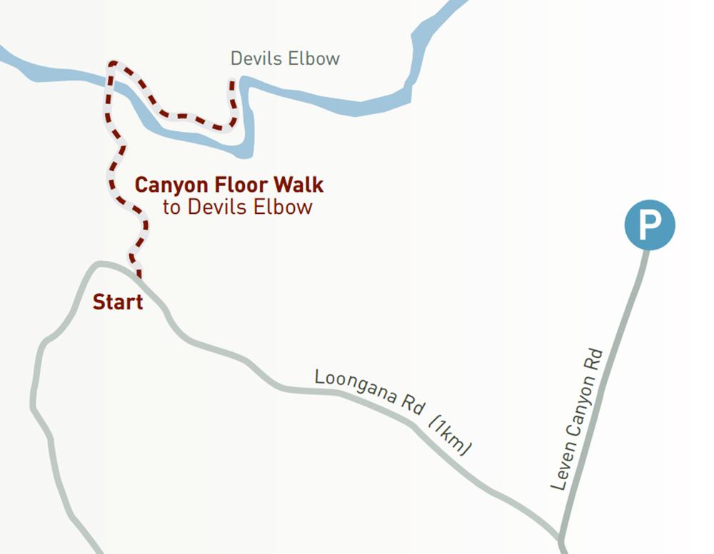 Leven Canyon Walks, Tasmania