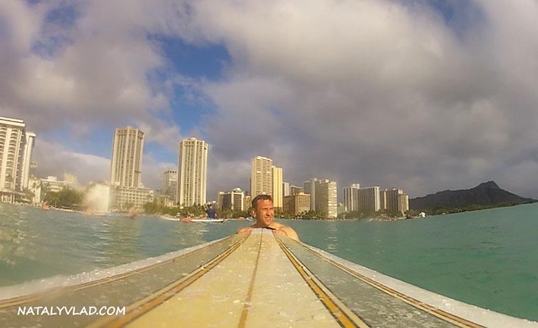 2013-02-11 - Surfing, Waikiki Beach, Honolulu, Hawaii, USA