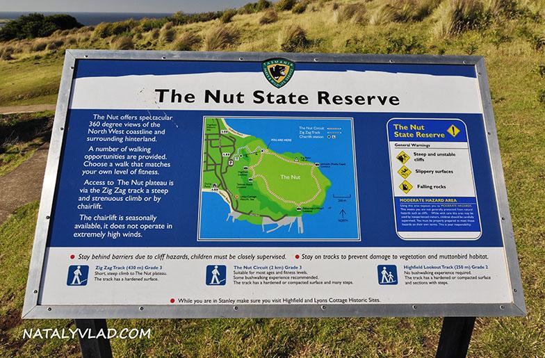The Nut and Stanley, Tasmania, Australia