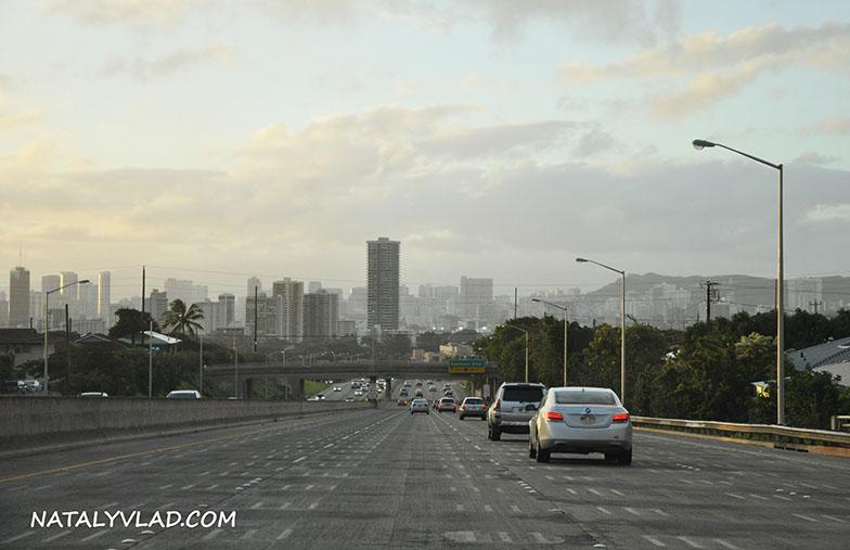 2013-02-07 - Вечерний Гонолулу, Гавайи