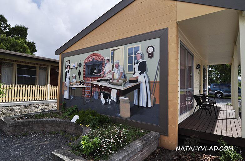 Sheffield - Town of Murals, Tasmania