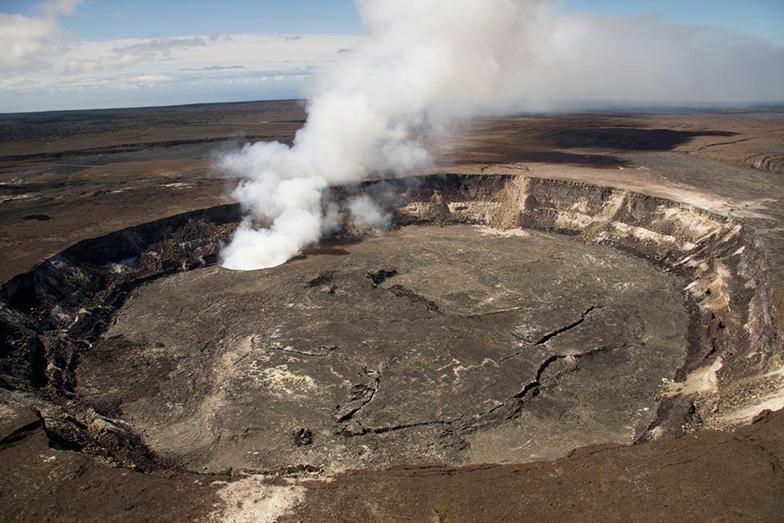 Кратер Халемаумау, Вулкан Килауэа, Национальный парк Гавайские вулканы