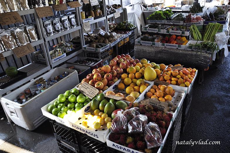 Рынок в Каилуа-Кона, Большой остров Гавайи