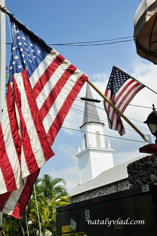 Церковь Mokuaikaua, Каилуа-Кона, Большой остров Гавайи