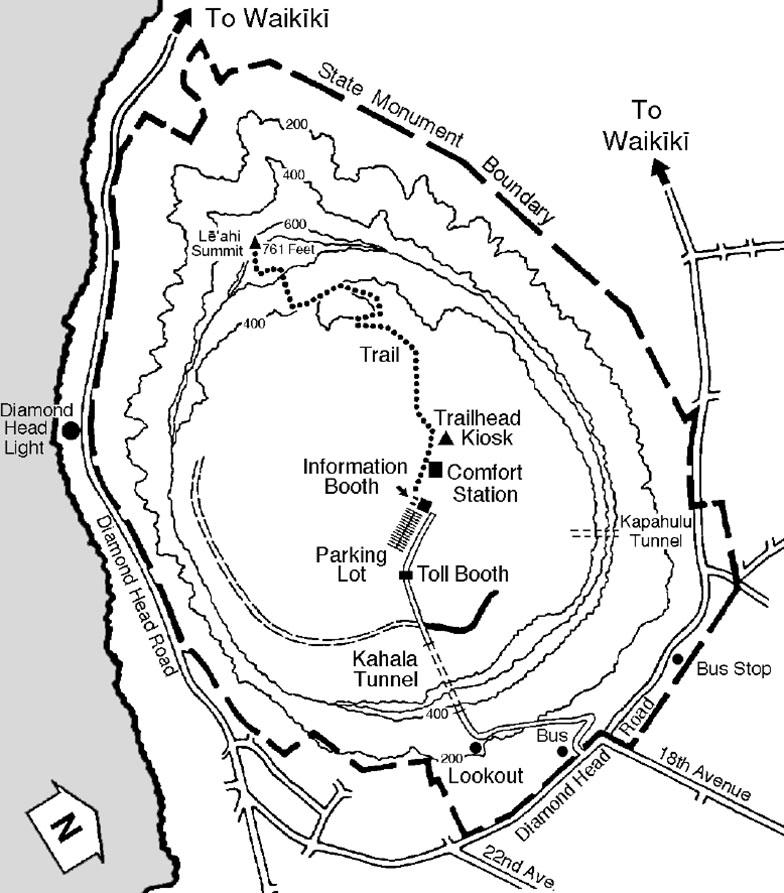 Diamond Head - Map