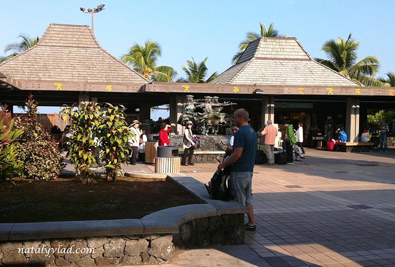 Аэропорт в Кона, Большой остров Гавайи