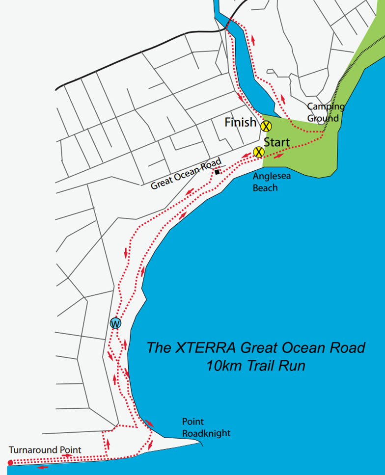 XTERRA Great Ocean Road 10km Trail Run, Anglesea, Australia