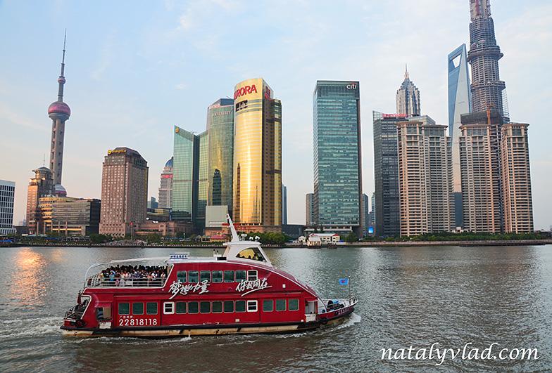 Шанхай Круиз по реке Хуанпу