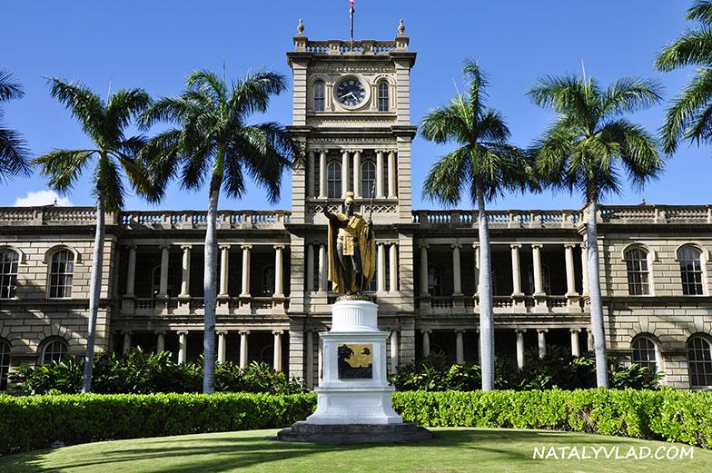 Sculpture Kamehameha I, Honolulu, Oahu, Hawaii