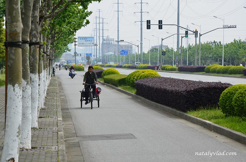 Улицы Шанхая, Китай