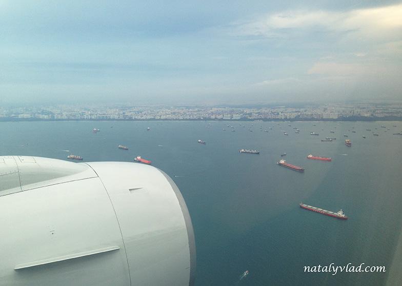 Перелет Мельбурн-Сингапур