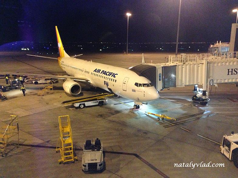 Air Pacific - Перелет из Мельбурна на Фиджи