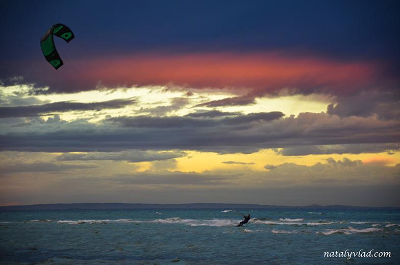 Кайтсерфинг в Австралии