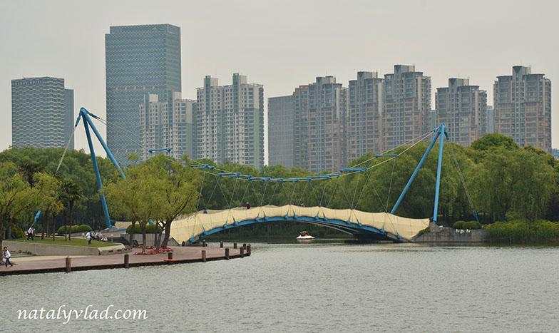 Китай Шанхай Фото | Парк Века Century Park
