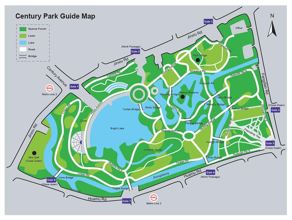 Шанхай Парк Века | Century Park Shanghai