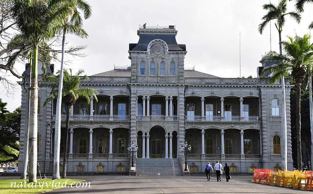 Гавайи Гонолулу Дворец Иолани