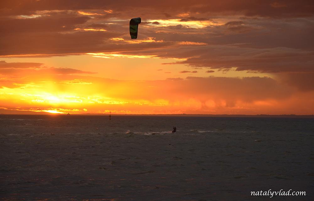 Кайтсерфинг в Австралии |  Кайтинг в Мельбурне