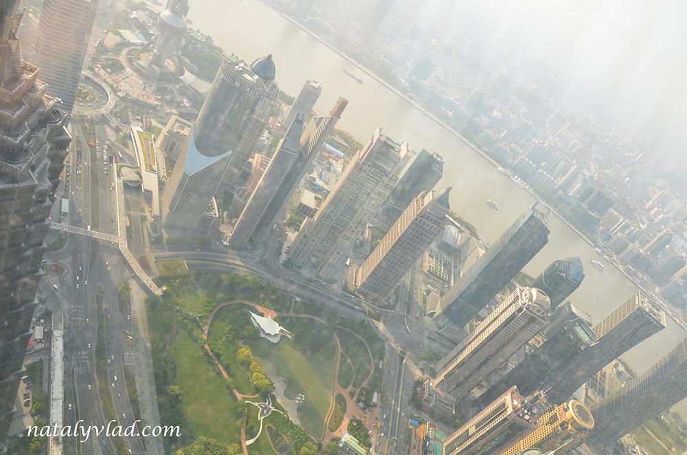 Путешествие в Китай: Шанхай – Небоскребы Шанхая - Shanghai World Financial Center