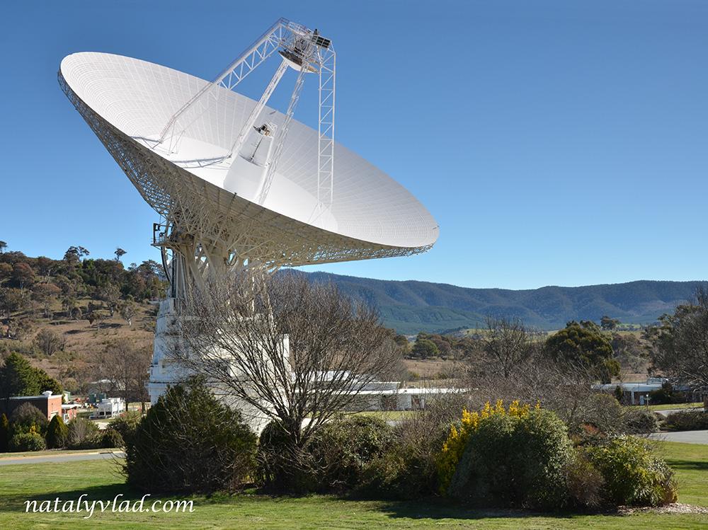 Canberra Deep Space Communication Complex, Australia