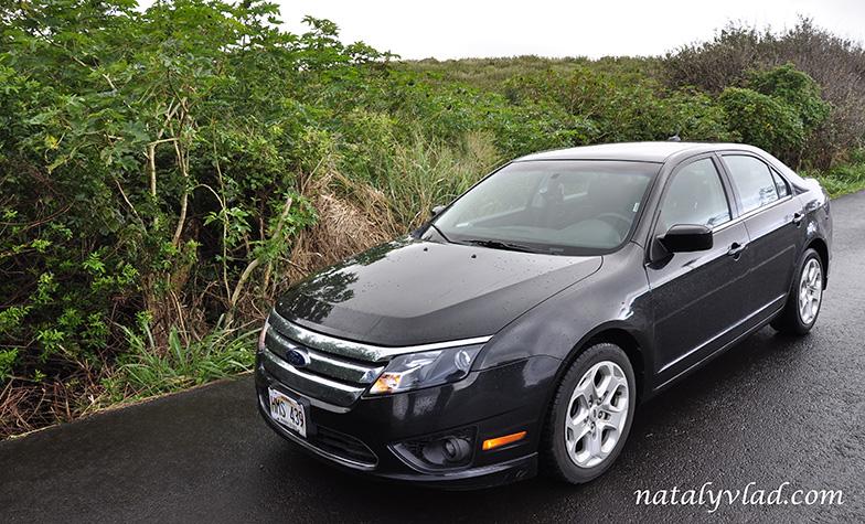 Hawaii car Ford Fusion