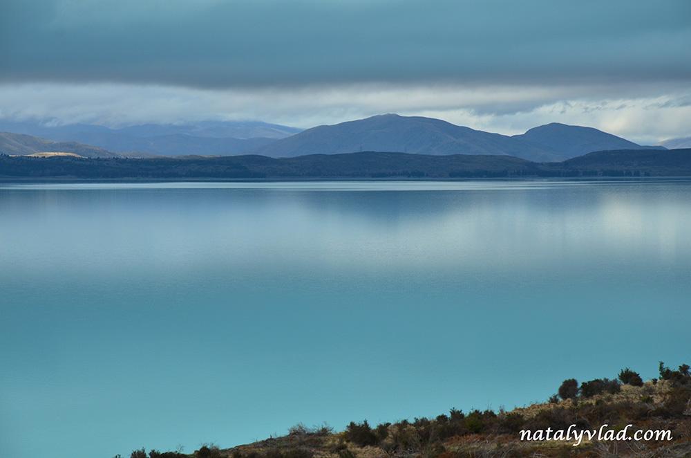 Озеро Пукаки, Новая Зеландия