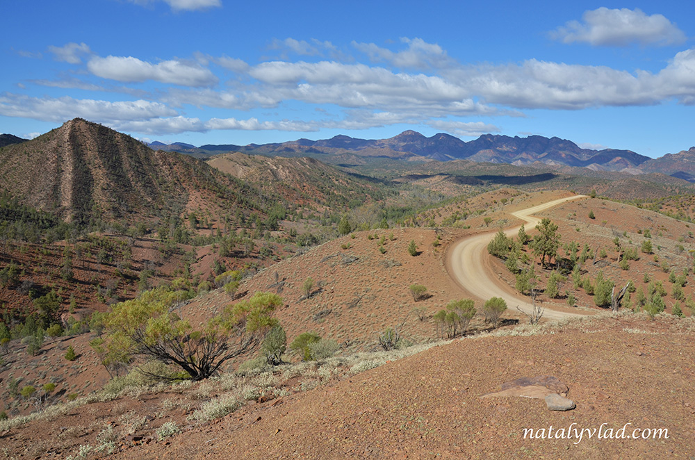 Razorback Lookout, Bunyeroo Gorge Scenic Drive, Flinders Ranges, Australia