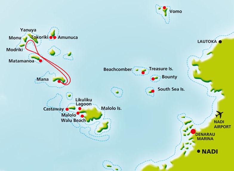 Группа островов Маманута Фиджи