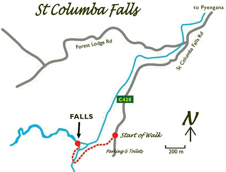 St Columba Falls, Tasmania