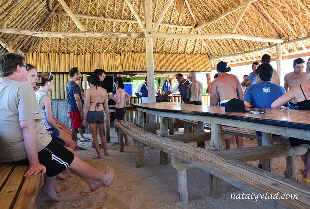Распитие кавы, остров Schooner, Фиджи