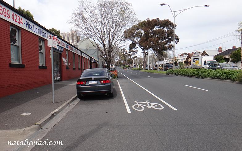 Велосипедные дорожки в Мельбурне, Австралия