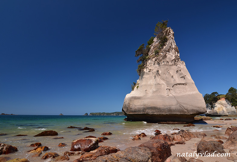 Cathedral Cove, Coromandel Peninsula, New Zealand