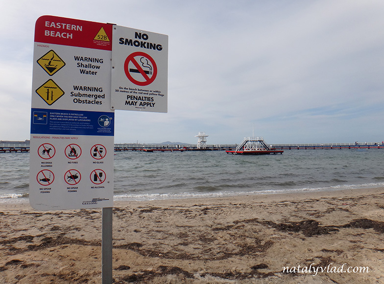 Eastern Beach, Geelong, Australia