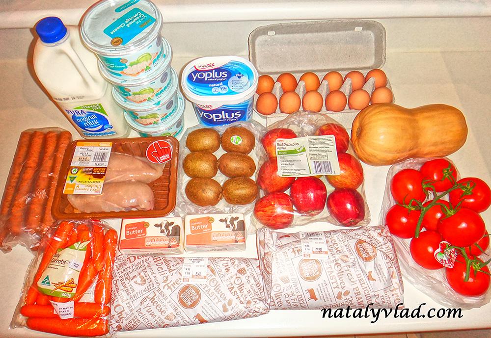 Цены на еду в Австралии | Блог Наты и Тёмы