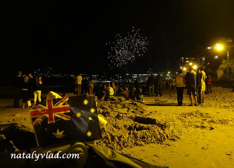 Фейерверк Cronulla Beach 2014